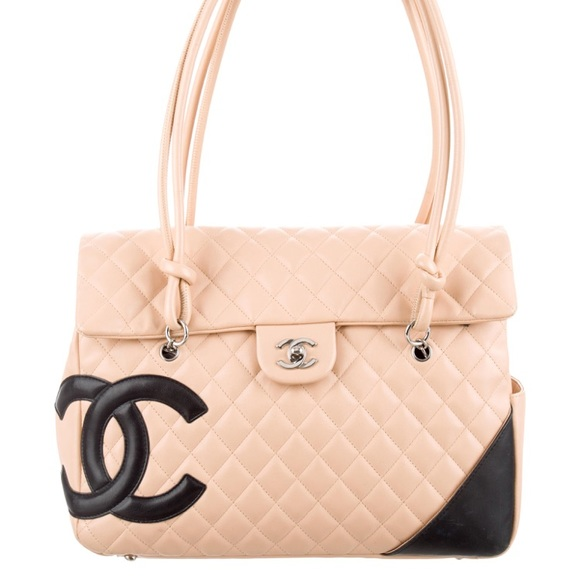 9be129a0457 CHANEL Bags   Authentic Cambon Flap Tote   Poshmark